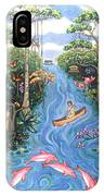 Lost In The Amazon IPhone Case