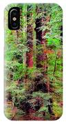 Lost In The Forest IPhone Case