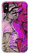 Lost In Thoughts Of Self Reflection IPhone Case