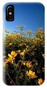 Lots Of Buttercups Against A Blue Sky IPhone Case
