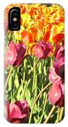 Lots Of Tulips IPhone Case