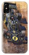 Lotus 72 Canadian Gp 1972 Emerson Fittipaldi  IPhone Case