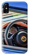 Lotus Evora S Steering Wheel -1858c IPhone Case