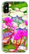 Lotus Flower 3 IPhone Case