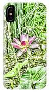 Lotus Flower Bloom In Pink 2 IPhone Case