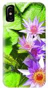 Lotus In Pond IPhone Case