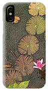 Lotus Pond IPhone Case