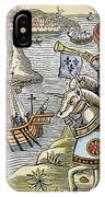 Louis Ix: Disembarking IPhone Case