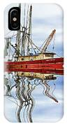Louisiana Shrimp Boat 4 - Paint IPhone Case