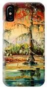 Louisiana Swamp IPhone Case