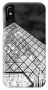 Louvre Museum Bw IPhone Case