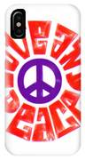 Love And Peace 14 IPhone Case