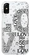 Love Droplets IPhone Case