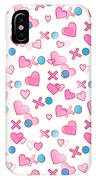 Love Hugs And Kisses IPhone Case