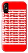 Love In Red IPhone Case