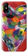 Love Is Colorful - Art By Linda Woods IPhone Case