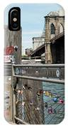 Love Locks In Brooklyn New York IPhone Case