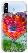Love Makes A Splash IPhone Case