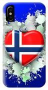 Love Norway 2 IPhone Case