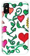 Love On The Vine IPhone Case