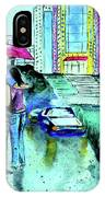 Love Rain IPhone Case