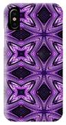 Lovely As A Purple Thought IPhone Case