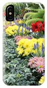 Lovely Flowers In Manito Park Conservatory IPhone Case