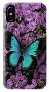Lovely Green Winged Butterffly IPhone Case