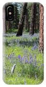 Lovely Lupine In The Mountains IPhone Case