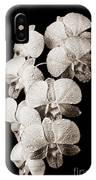 Lovely Orchid Cluster IPhone Case
