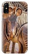 Lovely Stripes  7589 IPhone Case