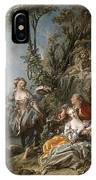 Lovers In A Park IPhone Case