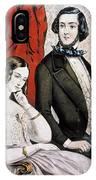 Lovers Quarrel, 1846 IPhone Case