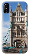 Low Angle View Of Tower Bridge, London IPhone Case