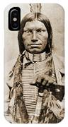 Low Dog Sioux IPhone Case