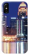 Low Moon Over Louisville IPhone Case