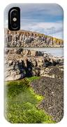 Low Tide At Cullernose Point IPhone Case