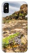 Low Tide At Saddle Rocks IPhone Case