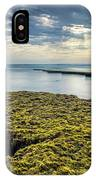 Low Tide At Swami's IPhone Case