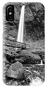 Lower Angle Of Elowah Falls In The Columbia River Gorge IPhone Case