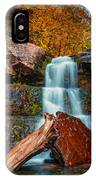 Lower Falls At Kaaterskill IPhone Case