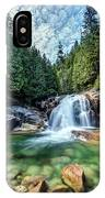 Lower Falls In Golden Ears Park IPhone Case by Pierre Leclerc Photography