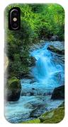 Lower Lynn Camp Falls Smoky Mountains IPhone Case