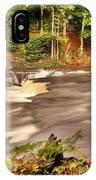 Lower Tahquamenon Falls 1 IPhone Case