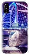 Lowry Bridge @ Night IPhone Case