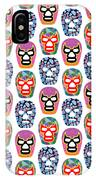Lucha Libre Masks IPhone Case