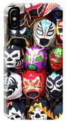 Lucha Libre Wrestling Masks IPhone Case