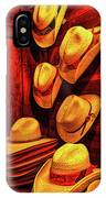 Luckenbach Hats Hdr IPhone Case