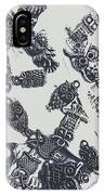 Lucky Charms Of Wise Old Owls IPhone Case