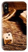 Lucky - Sepia IPhone Case